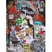 Graffitee Studios Boston Beantown Boiyz Graphic Art on Wrapped Canvas