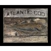 Graffitee Studios Coastal Atlantic Cod Framed Graphic Art