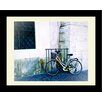Graffitee Studios Two Wheelin' Biking in Italy Framed Photographic Print