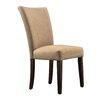 Kingstown Home Wingston Linen Parson Chair (Set of 2)