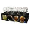 Ozeri Moderna Artisan Series 8 oz. Double Wall Beverage Glasses (Set of 8)