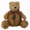 Craft Outlet Shabby Elegance Chenille Teddy Bear Collectible Figurine