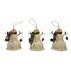 Craft Outlet Snowman Ornament (Set of 3)