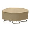 PCI by Adco Round Table and High Back Chair Cover