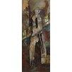 Benjamin Parker Galleries Shadow Walker I Original Metal Art