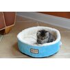 Armarkat Cat Bed in Sky Blue and Ivory