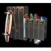 Skateboard Lockers 1 Tier 8 Wide Skateboard Longboard Add-on Locker
