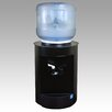 Aquaverve Water Coolers Degree Top Loading Hot and Cold Countertop Water Cooler in Black