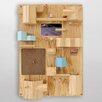 Seletti Suburbia Wooden Wall Storage Solution
