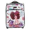 "Nicole Lee Sunny 21"" Suitcase"