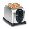 Elite by Maxi-Matic Platinum 2-Slice Stainless Steel Toaster