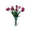 Dalmarko Designs Tulips in Glass Vase