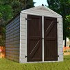 Palram SkyLight™ 6 Ft. W x 8 Ft. D Polycarbonate Storage Shed