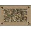 Milliken Realtree Timber Solid Border Brown Area Rug