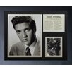 Legends Never Die Elvis  Presley The Movies Framed Photo Collage
