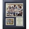 Legends Never Die St. Louis Rams Fearsome Foursome Framed Photo Collage