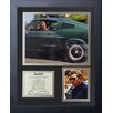 Legends Never Die Bullitt Framed Memorabilia