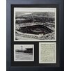 Legends Never Die Cincinnati Reds - Crosley Field Framed Memorabilia