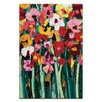 Artist Lane Blooms 2 by Anna Blatman Painting Print on Wrapped Canvas