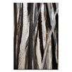 Artist Lane Treeline #1 by Katherine Boland Painting Print on Wrapped Canvas in Umber