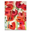 Artist Lane Crazy Poppies by Anna Blatman Painting Print on Wrapped Canvas