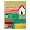 Artist Lane Country by Anna Blatman Painting Print on Wrapped Canvas