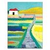 Artist Lane Laneway by Anna Blatman Painting Print on Canvas