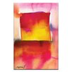 Artist Lane Watercolor Abstraction 210 by Kathy Morton Stanion Painting Print on Canvas