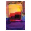 Artist Lane Watercolor Abstraction 213 by Kathy Morton Stanion Painting Print on Canvas