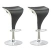 CorLiving Adjustable Height Swivel Bar Stool (Set of 2)