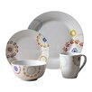 Tabletops Gallery Fulton 16 Piece Dinnerware Set