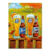 """Miller Coors """"Harvest"""" by Blue Moon Painting Print on Wrapped Canvas"""