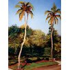 Portfolio Canvas Decor 'Twin Palms' by Sokol-Hohne Framed Painting Print on Wrapped Canvas