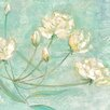 Portfolio Canvas Decor Blossoms In Blue I by Elinor Luna Painting Print on Wrapped Canvas