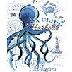 Portfolio Canvas Decor Sea Cliff Octopus by Julie Paton 2 Piece Graphic Art on Wrapped Canvas Set