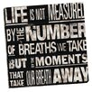 Portfolio Canvas Decor Transit Moments by IHD Studio Textual Art on Wrapped Canvas