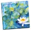 Portfolio Canvas Decor Water Lily Watercolor I by Rachel McNaughton Painting Print on Wrapped Canvas