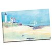 Portfolio Canvas Decor Lighthouse Landscape by Noah Bay Painting Print on Wrapped Canvas