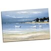 Portfolio Canvas Decor Coastal Inlet II by Frederic Flanet Framed Painting Print on Wrapped Canvas