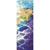 Portfolio Canvas Decor Rhythmic Nature Ocean Blues IV Panel 1 by Sandy Doonan 2 Piece Painting Print on Wrapped Canvas Set