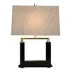 "Bungalow Belt Urbane 21.5"" H Table Lamp with Rectangular Shade"