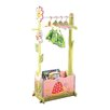 Fantasy Fields Magic Garden Dress-Up Valet Rack with Set of 4 Hangers