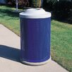 Wausau Tile Inc City 41-Gal Metal Waste Container