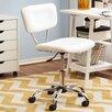 Zipcode Design Adjustable Mid-Back Sleek White Office Chair