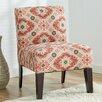 Zipcode™ Design Ikat Slipper Chair in Coral