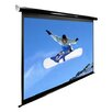 Elite Screens Spectrum Series Motorized Matte White Electric Drop Down Projection Screen