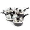 Gibson Oster Cramerton 8 Piece Cookware Set