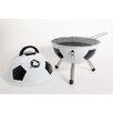 """Gibson 13"""" Soccerball Charcoal Grill"""