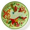 "Lynn Chase Designs Parrotdise 11.75"" Dinner Plate (Set of 4)"