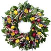 Dried Flowers and Wreaths LLC Classic Everlasting Wreath